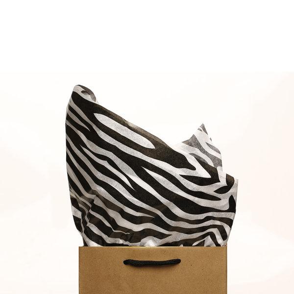 zebra print tissue paper