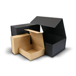 Natural Kraft Foldable Rigid Boxes