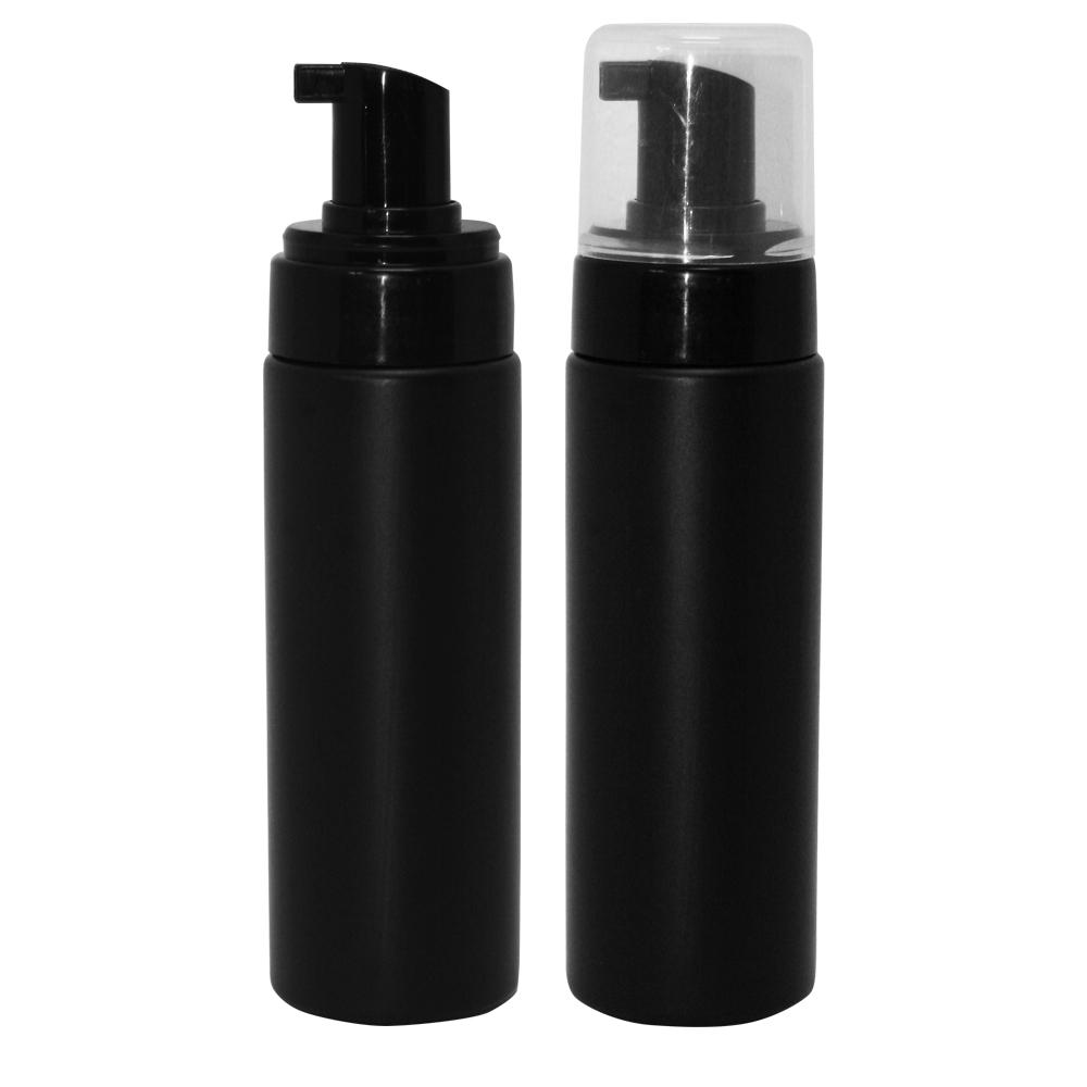 200ml Black Foaming Bottle With Natural Overcap Amp Black