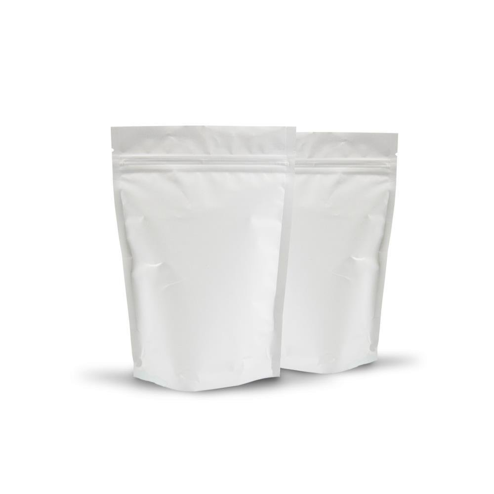 150g Matte White Stand Up Pouch 100 Per Carton New