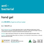 5 LT Colourless Anti-Bacterial Hand Gel 70% Ethanol