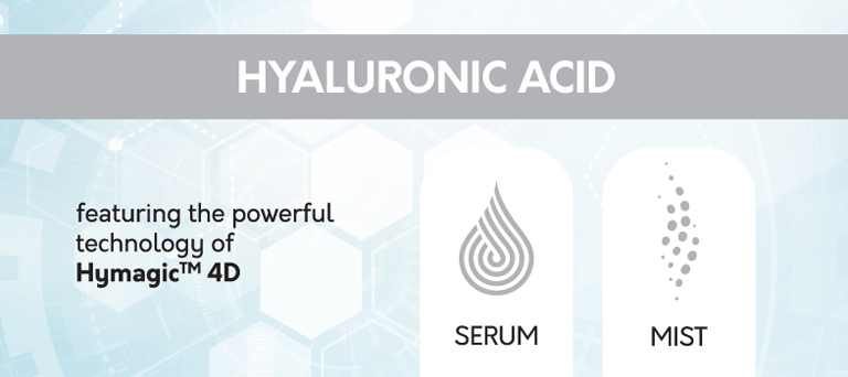 Hyaluronic Acid Mist and Serum
